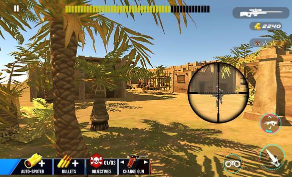 Desert Sniper Commando Battle screenshot 9