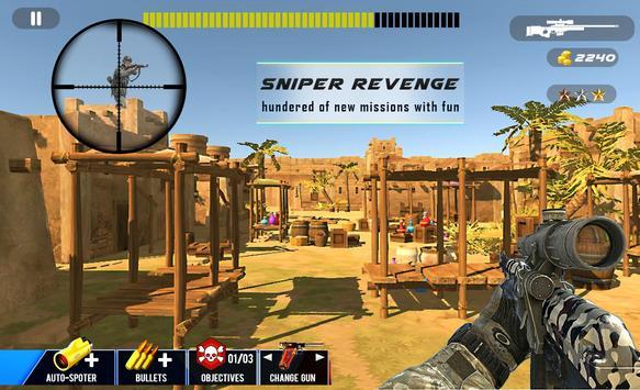 Desert Sniper Commando Battle screenshot 11