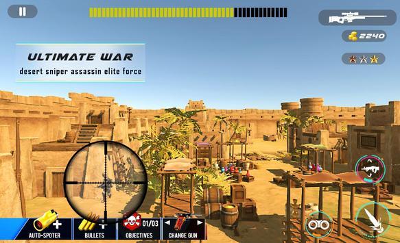 Desert Sniper Commando Battle screenshot 2