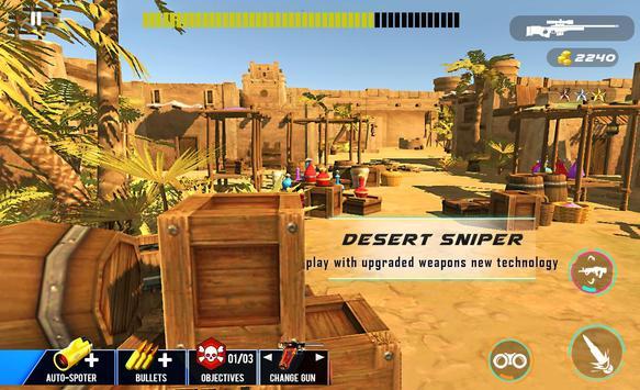 Desert Sniper Commando Battle screenshot 3