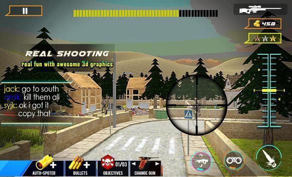 Secret Agent US Army Sniper poster