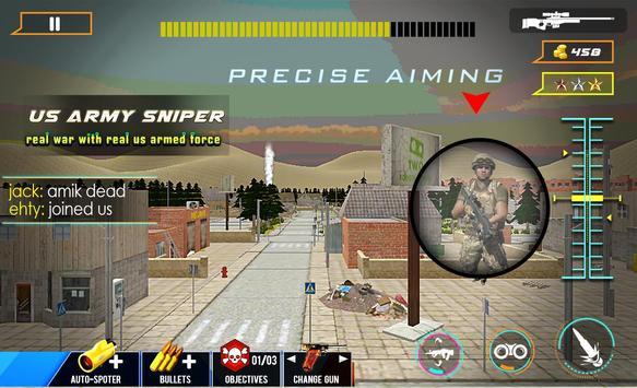 Secret Agent US Army Sniper screenshot 1