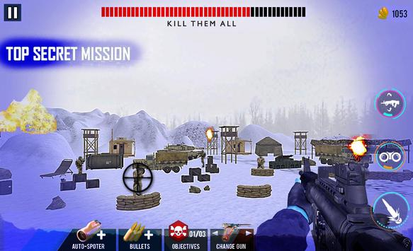 Snow Sniper Adventure Missions screenshot 2