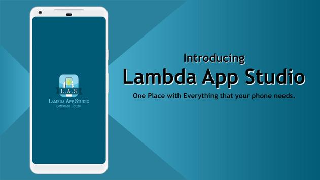 Lambda App Studio - Our Products poster