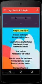 Lagu dan Lirik Upinipin apk screenshot