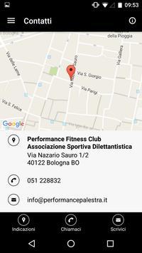 Performance Fitness Club apk screenshot