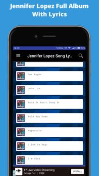 Song of JENNIFER LOPEZ Young Full Album Complete screenshot 4