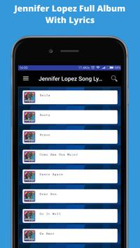 Song of JENNIFER LOPEZ Young Full Album Complete screenshot 1