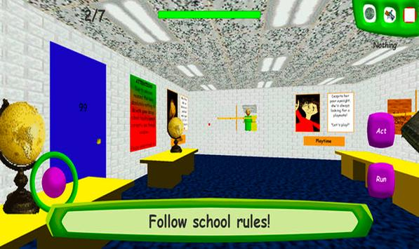 Baldi's Basics in School Education New screenshot 1