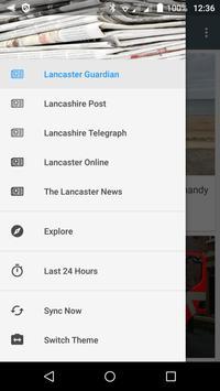 Lancaster free news poster