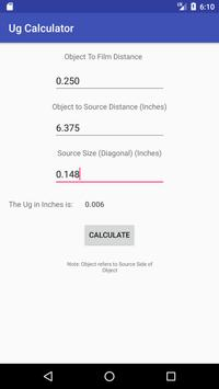 UG Calculator apk screenshot