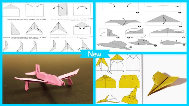 Easy Origami Paper Plane Step By Poster