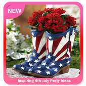 Inspiring 4th July Party Ideas icon