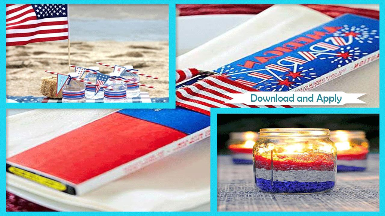 Inspiring 4th July Party Ideas poster