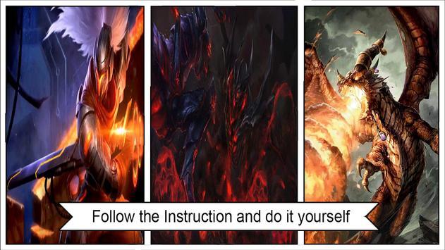 Best Demon Live Wallpaper Poster Screenshot 1
