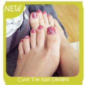 Cute Toe Nail Designs icon