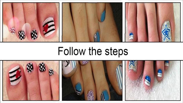Cute Toe Nail Designs apk screenshot
