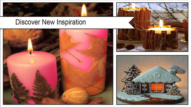 Easy DIY Gingerbread Candles apk screenshot