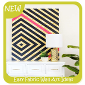 Easy Fabric Wall Art Ideas icon