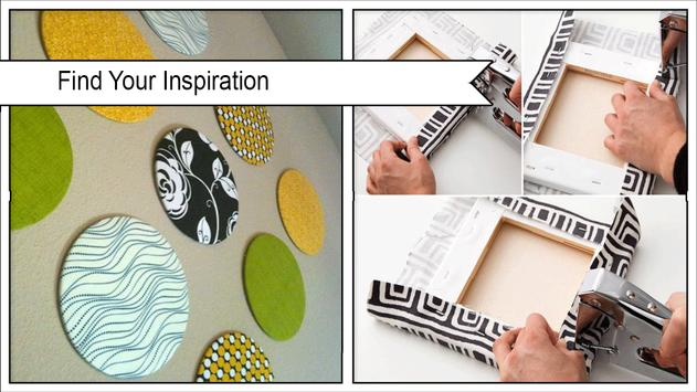 Easy Fabric Wall Art Ideas poster
