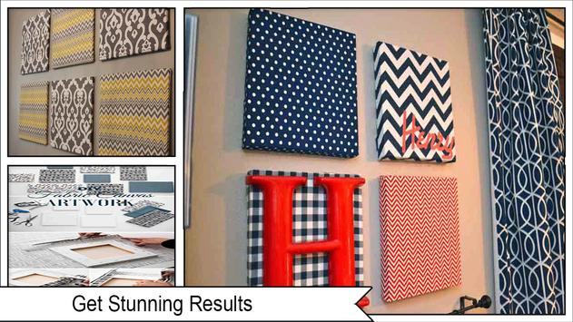 Easy Fabric Wall Art Ideas screenshot 3