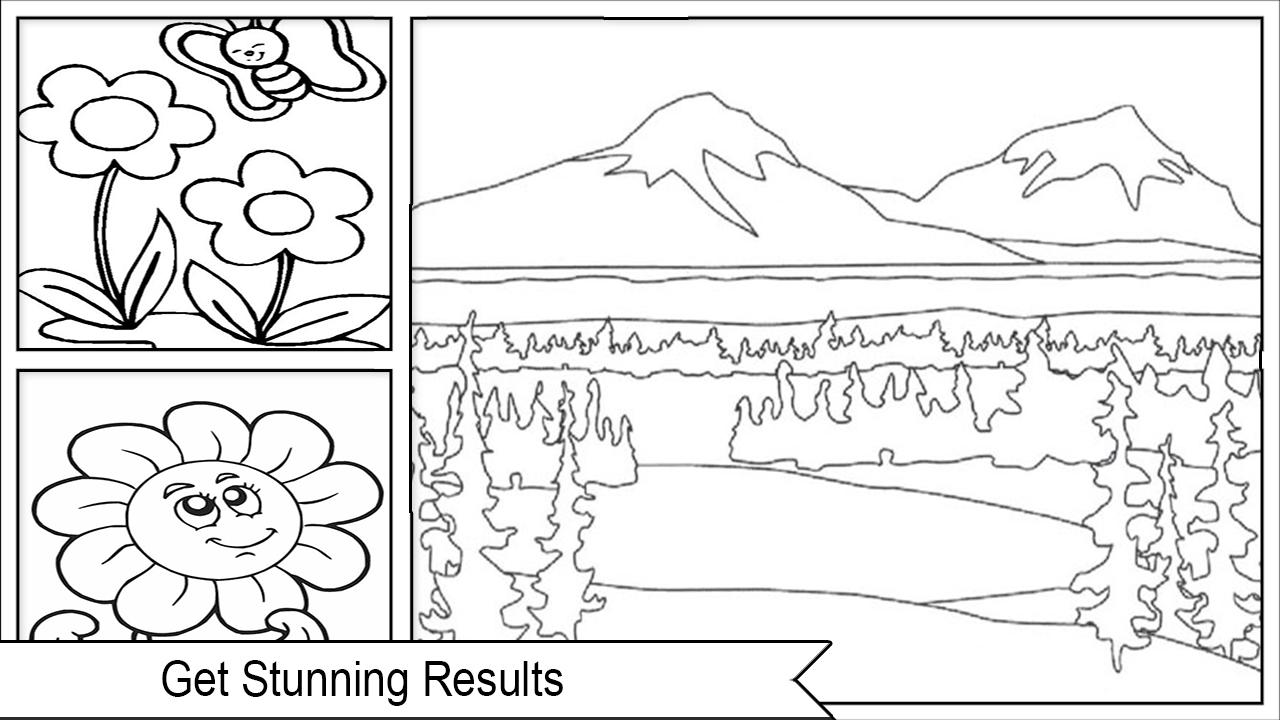 Easy Landscape Coloring Pages for Android   APK Download
