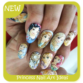 Princess Nail Art Ideas icon