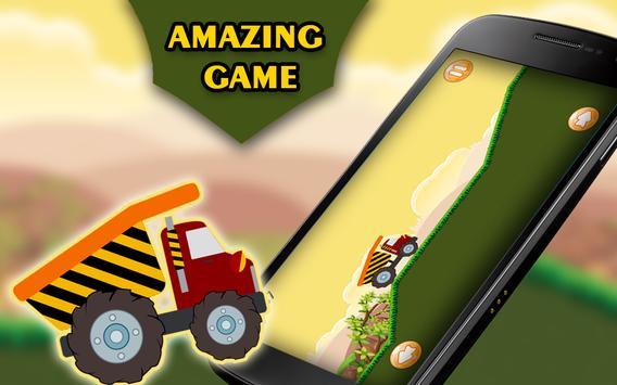 Speedy Truck : Hill Racing 2 screenshot 2