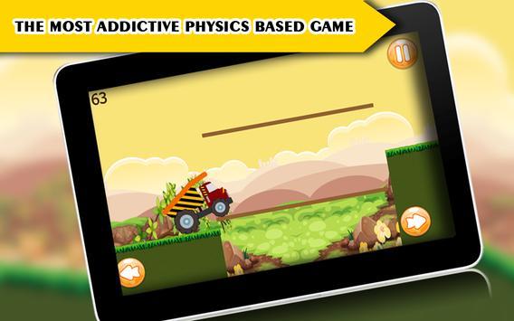 Speedy Truck : Hill Racing 2 screenshot 3