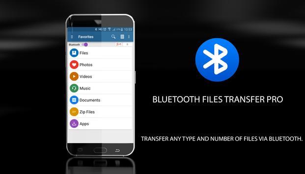 Bluetooth File Transfer PRO poster