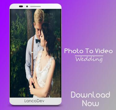 Wedding Photo Video Maker poster