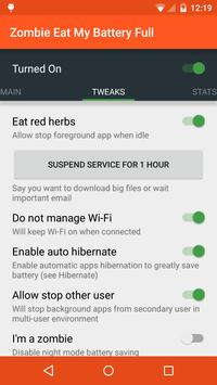 Battery Saver: ZEMB Full screenshot 1