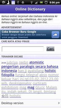 Kamus Landak Online poster