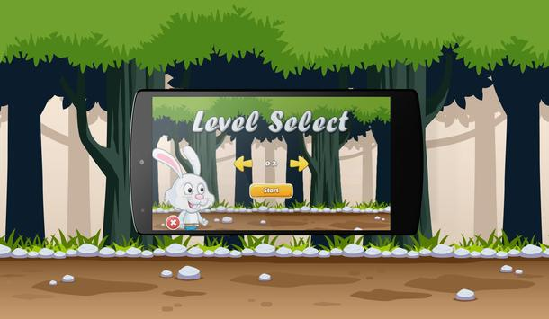 Super Bunny Jungle World apk screenshot