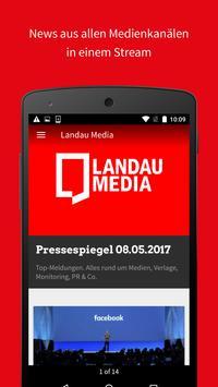 Landau Media poster