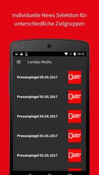 Landau Media screenshot 2