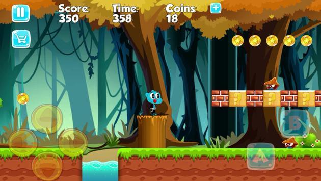 Gumbàll Fun Run Adventure screenshot 2