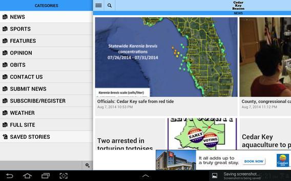 Cedar Key Beacon apk screenshot