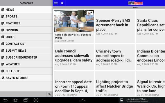Spencer County Journal apk screenshot