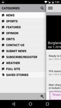 Williston Pioneer Sun News apk screenshot