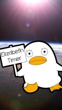 Gintama Elizabeth Clock poster
