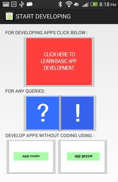 android programming poster