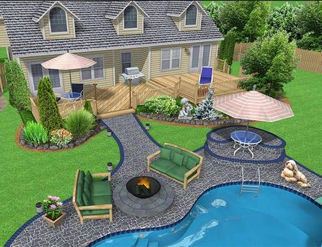 landscape design ideas apk screenshot