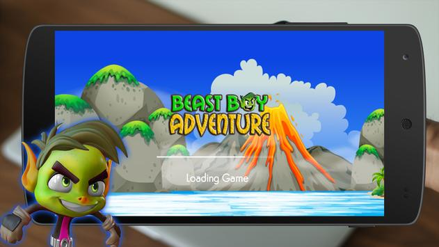 Beast Boy Run Adventure poster
