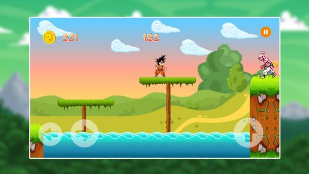Super Gohan Saiyan fight apk screenshot