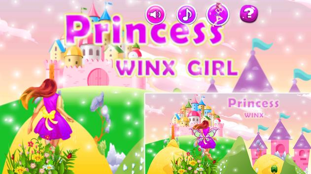 Princess Beautiful Winx Girl poster
