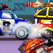 Robocar Rocket Car Games icon
