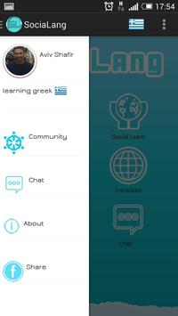 sociaLang - Learn Languages apk screenshot