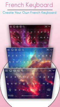 French Language Keyboard poster