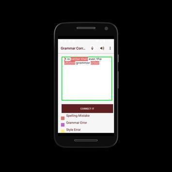 Grammar Fixer- Professional Free Grammar Corrector apk screenshot
